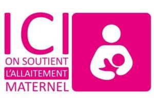Ici on soutien l'allaitement maternel